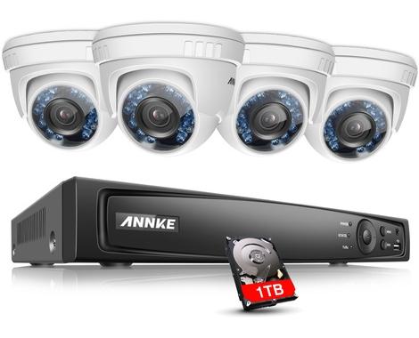 SISTEMA DE VIDEOVIGILANCIA DE ANNKE CON CÁMARAS FULL HD 1080P